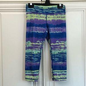 Reversible Ivivva by Lululemon girls crop leggings